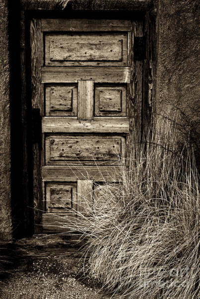 Photograph - Adobe Door by Paul W Faust -  Impressions of Light