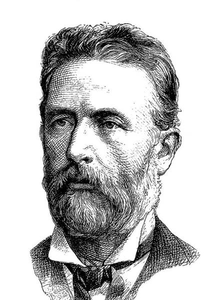 Engraving Photograph - Adolf Bastian by Bildagentur-online/tschanz