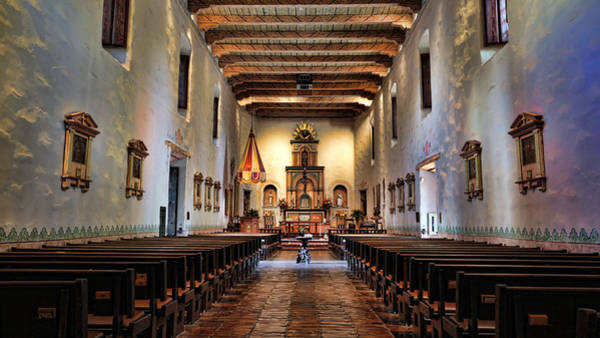 California Mission Photograph - Adoration - San Diego De Alcala by Stephen Stookey