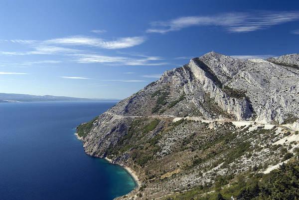Balkan Peninsula Photograph - Adriatic Coast, Croatia by Theodore Clutter