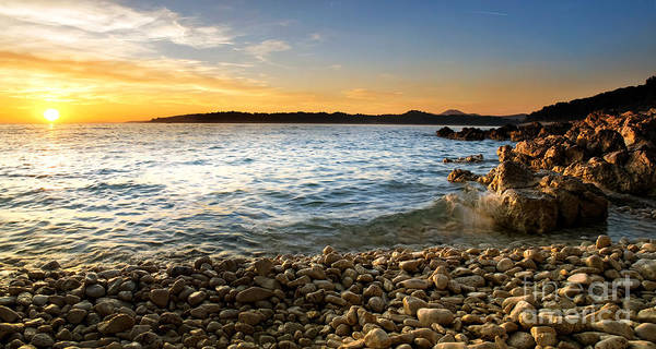 Losinj Photograph - Adriatic Pebbles by Sinisa Botas
