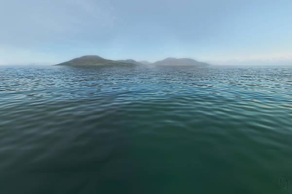Digital Art - Adrift On Calm Waters by Matt Lindley