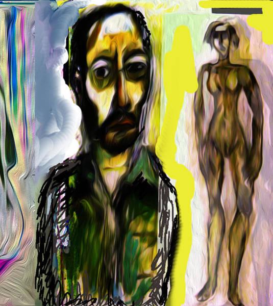 Wall Art - Painting - Adversity Makes Men by Noredin Morgan