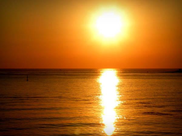 Photograph - Aegean Sunset by Micki Findlay