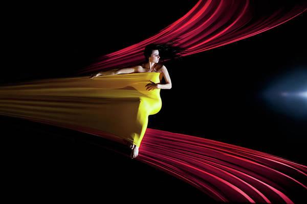 Curtains Photograph - Aer by ?ukasz Koz?owski