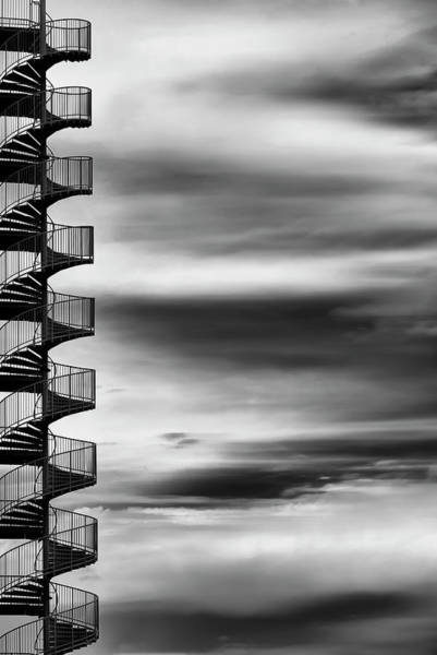 Staircase Wall Art - Photograph - Aerial Helix by Tomoshi Hara