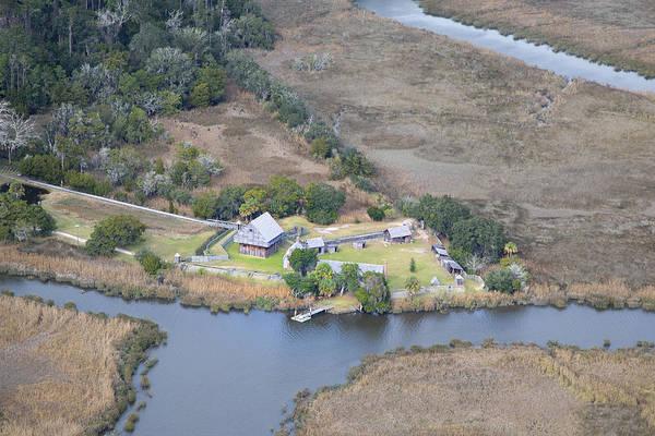 Jekyll Island Photograph - Aerial Jekyll Island Area by Betsy Knapp