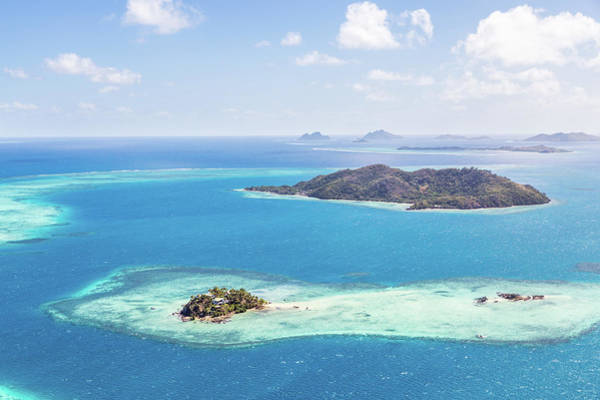Luxury Photograph - Aerial Of Island With Tourist Resort by Matteo Colombo