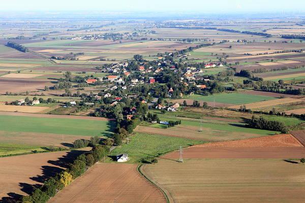 Suburbs Photograph - Aerial Photo Of A Village by Dariuszpa