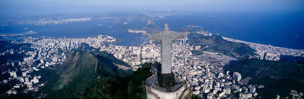 Wall Art - Photograph - Aerial, Rio De Janeiro, Brazil by Panoramic Images