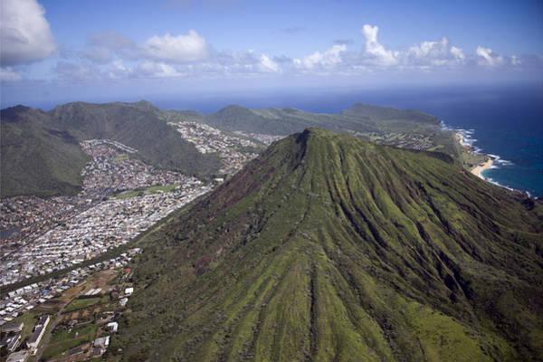 Aerial View Digital Art - Aerial View Honolulu Hawaii by Carol Highsmith