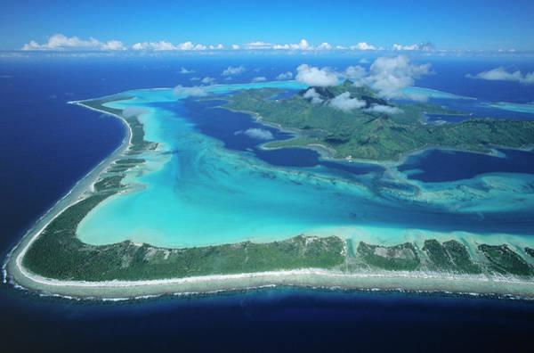 Photograph - Barrier Reef Around Bora Bora by Martin Kers