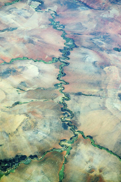 Madagascar Photograph - Aerial View Of A River by Dr P. Marazzi