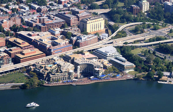 Motorboat Photograph - Aerial View Of Georgetown by Hisham Ibrahim
