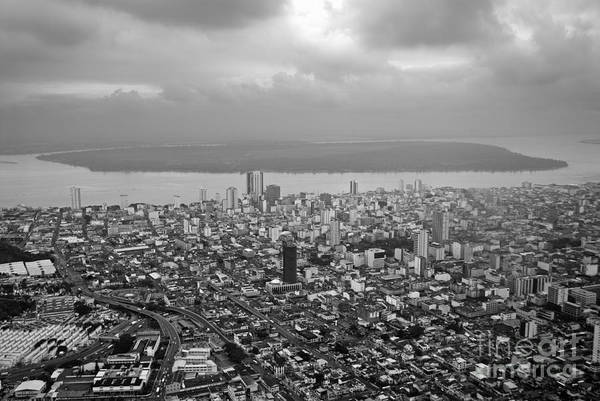 Wall Art - Photograph - Aerial View Of Guayaquil City by Sami Sarkis