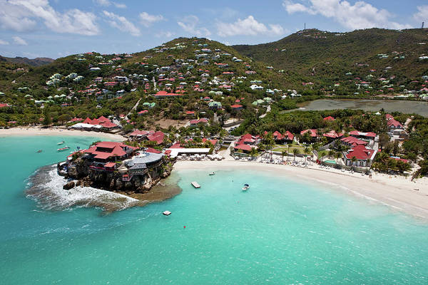 Wall Art - Photograph - Aerial View Of Houses On An Island by Panoramic Images