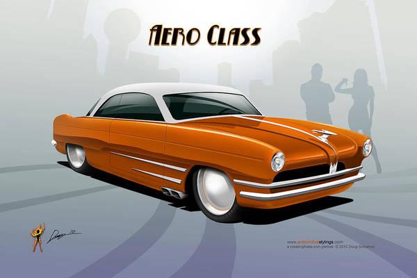 Digital Art - Aero Class by Doug Schramm