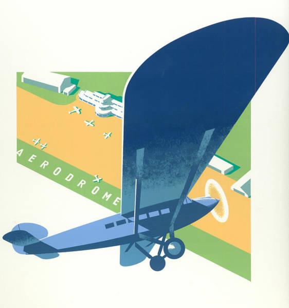 Wall Art - Photograph - Aerodrome by MGL Meiklejohn Graphics Licensing