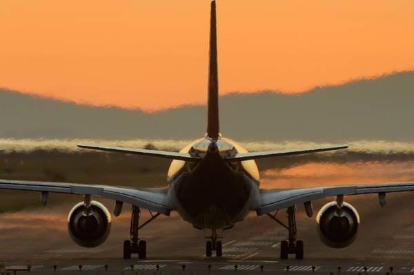Wall Art - Photograph - Aeroplane Taxiing On A Runway by David Nunuk/science Photo Library