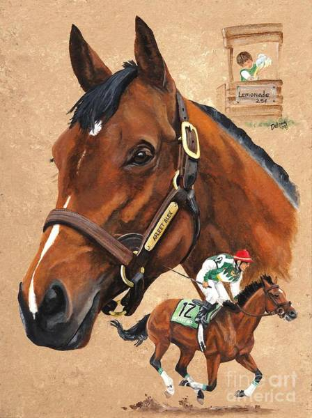 Wall Art - Painting - Afleet Alex by Pat DeLong