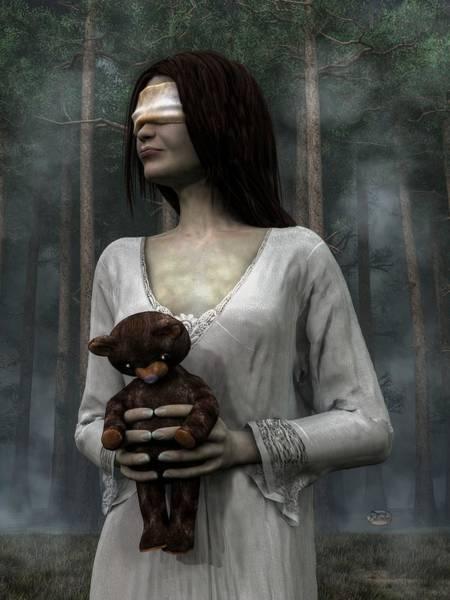 Digital Art - Afraid Of The Dark by Daniel Eskridge