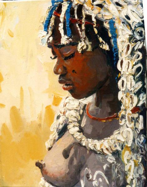 Painting - Africa 2 by Sefedin Stafa