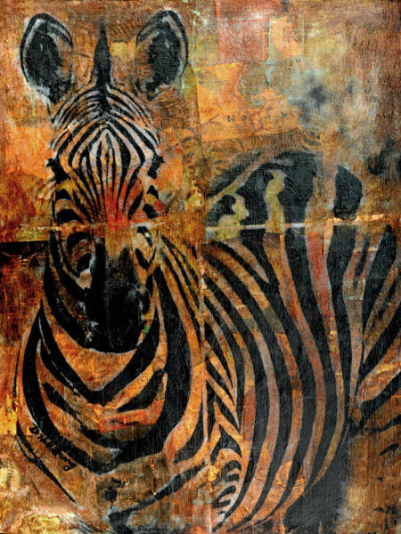 Transfer Mixed Media - Africa by Deborah Hall Barry