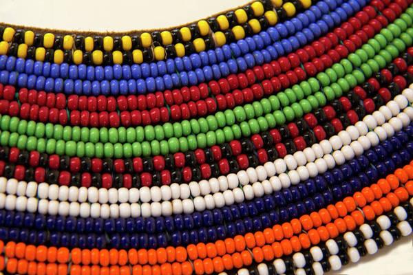 Wilt Photograph - Africa, Kenya Maasai Tribal Beads by Kymri Wilt