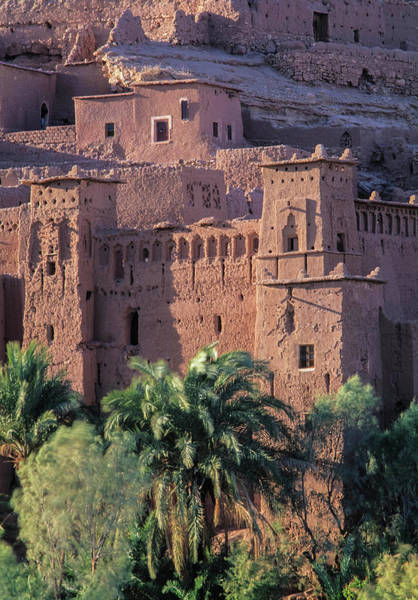 Mud House Photograph - Africa, Morocco, Ait Benhaddouksour by John and Lisa Merrill