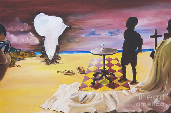 Painting - Africa Waits by James Lavott