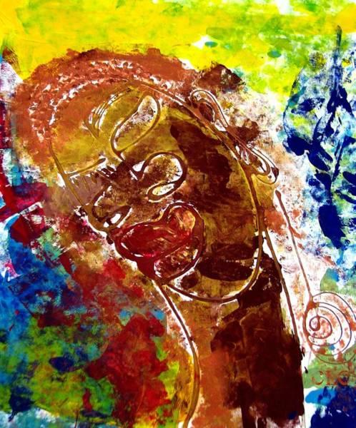 African Alpha Female Art Print