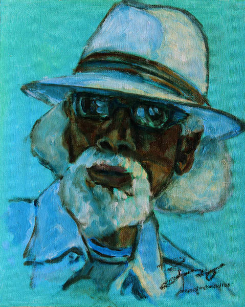 Painting - African American 8 by Xueling Zou