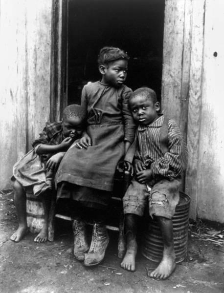 Photograph - African American Children by Granger