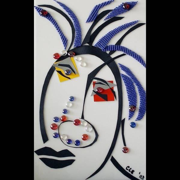 Nubian American Girl Art Print