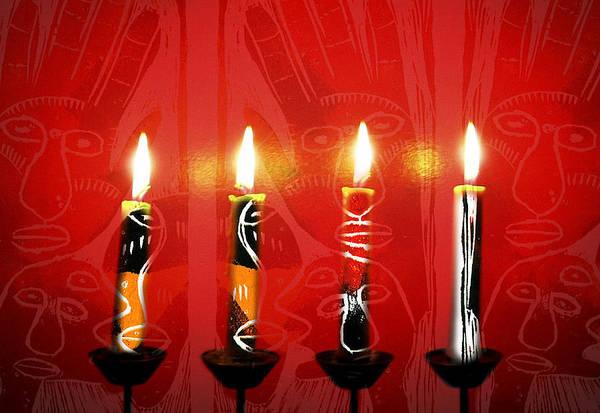 Photograph - African Candles by Lynn Hansen