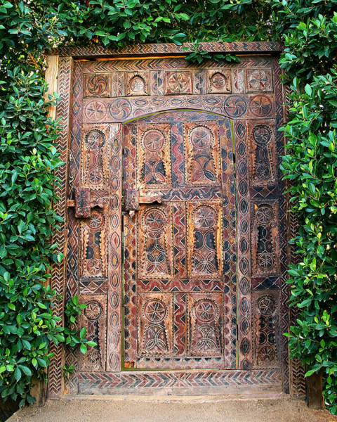 Wall Art - Photograph - The African Door Palm Springs by William Dey