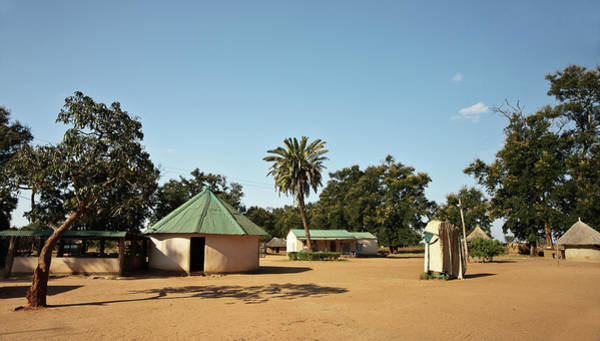 Mud House Photograph - African Homestead by Sisoje