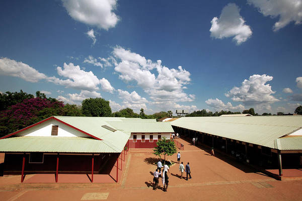 St. Mary Photograph - African Hospital by Mauro Fermariello/science Photo Library