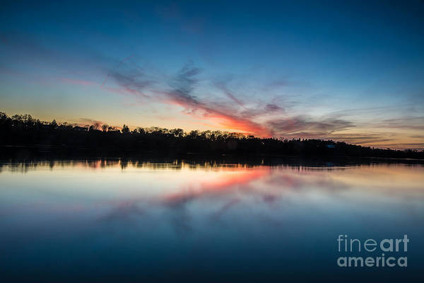 Lewiston Photograph - After Dusk by Chuck Alaimo