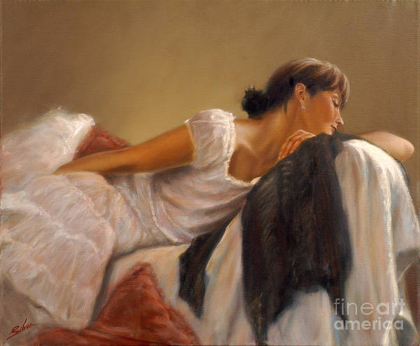 Painting - After The Ball by John Silver