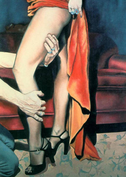Painting - After The Ball by Mary Ann Leitch