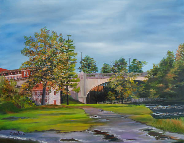 Monocacy Wall Art - Painting - After The Flood by Diane Hutchinson