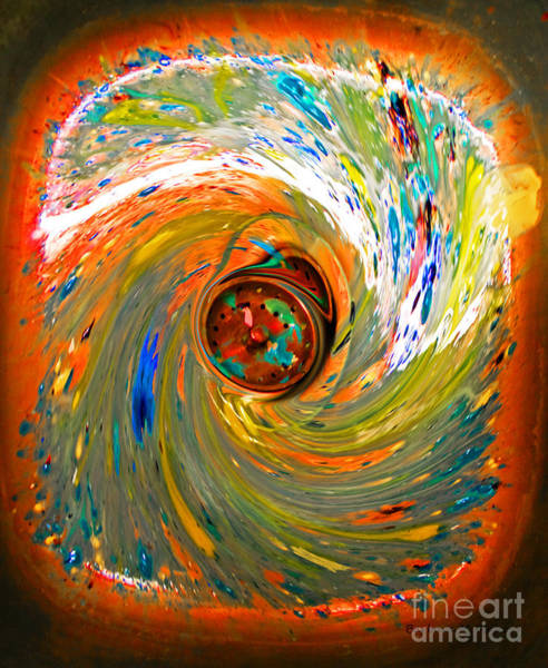Down The Drain Wall Art - Photograph - After The Masterpiece by Barbara McMahon