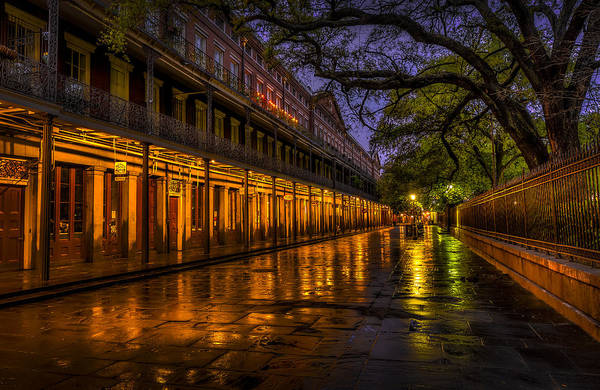 Bourbon Street Wall Art - Photograph - After The Rain by David Morefield