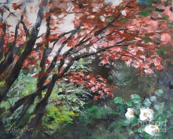 Painting - After The Rain by Lori Pittenger