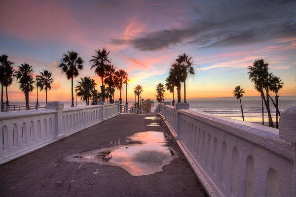 Oceanside Pier Photograph - After The Rain by Peter Tellone