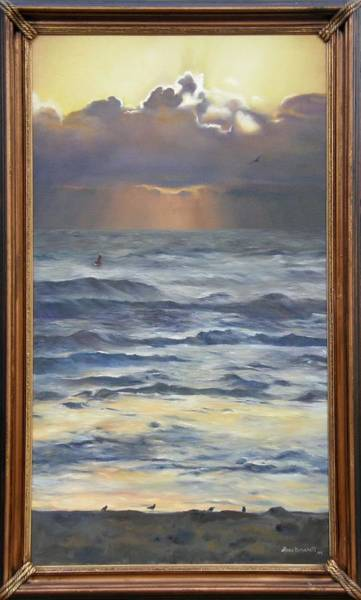 Painting - After The Storm Framed by Lori Brackett