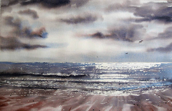 Bridlington Painting - After The Storm  by Glenn Marshall