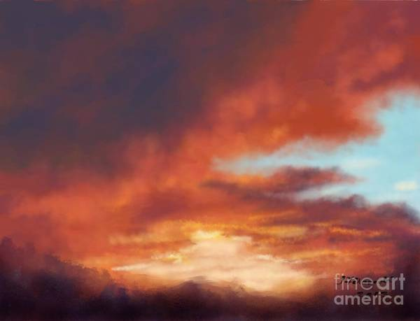 After The Storm Art Print by Judy Filarecki