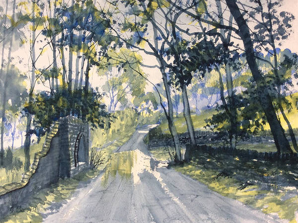 Painting - After The Storm On Woldgate by Glenn Marshall